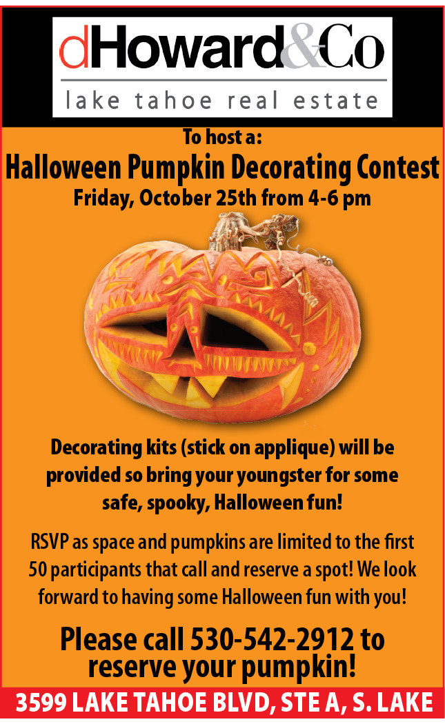 DH&Co Pumpkin Decorating Contest Friday October 25th